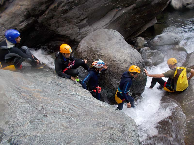 Canyoning in Aosta Valley