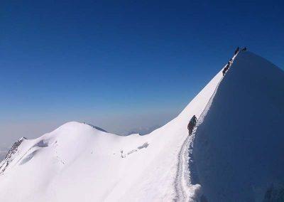 Castore (4221 m.) e Polluce (4092 m.)