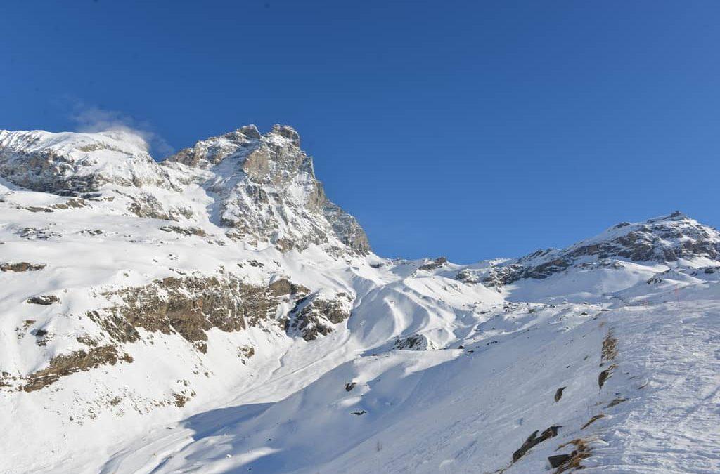 Alla scoperta del comprensorio Cervino Ski Paradise