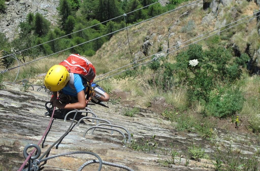 Via ferrata of Gorbeillon