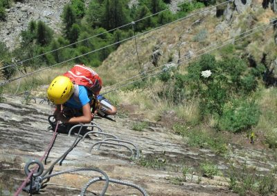 Via ferrata al Gorbeillon