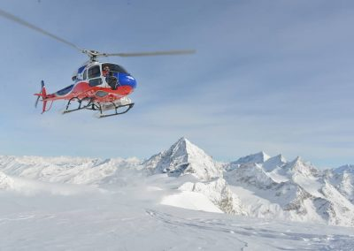 Heliski descents