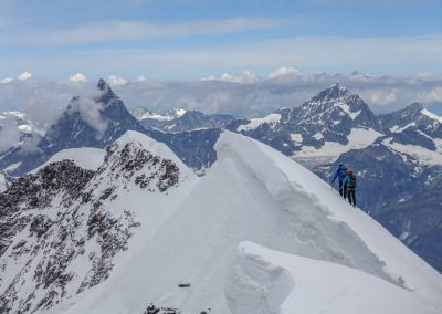 Traverse of the Lyskamm – Monte Rosa