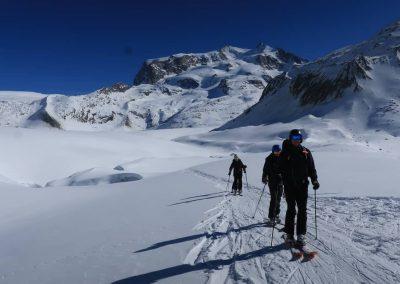 Heliski sul Monte Rosa