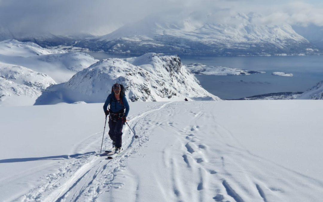 Settimana di sci alpinismo nelle alpi di Lyngen, Norvegia
