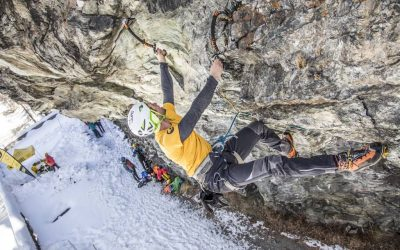 Dry tooling with the Cervino mountain guides
